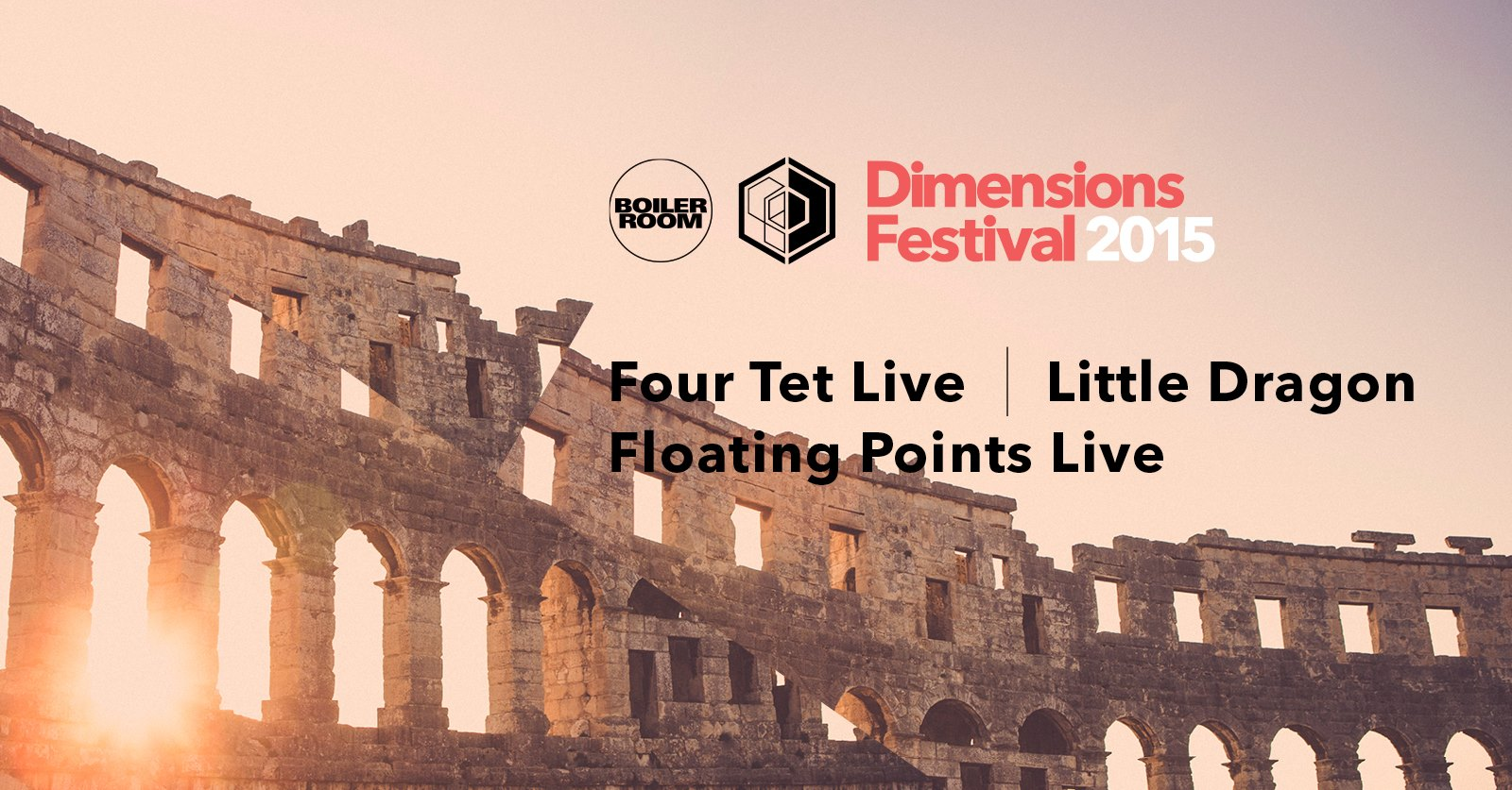 Dimensions Festival 2015 announce Four Tet, Little Dragon and Floating Points for Lineup