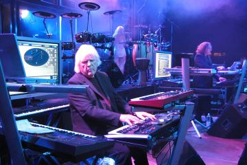 Tangerine Dream's owner Edgar Froese