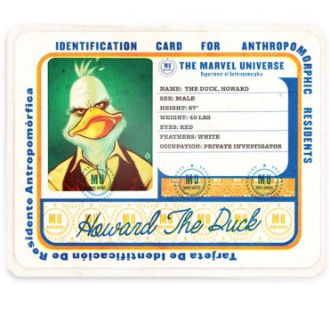 Marvel Old Dirt Bastard/ Howard the Duck