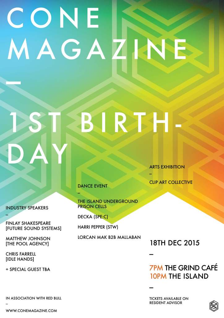 Cone Magazine 1st Birthday