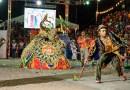 Grupos folclóricos se apresentam no Festival de Bumba Meu Boi de Maceió