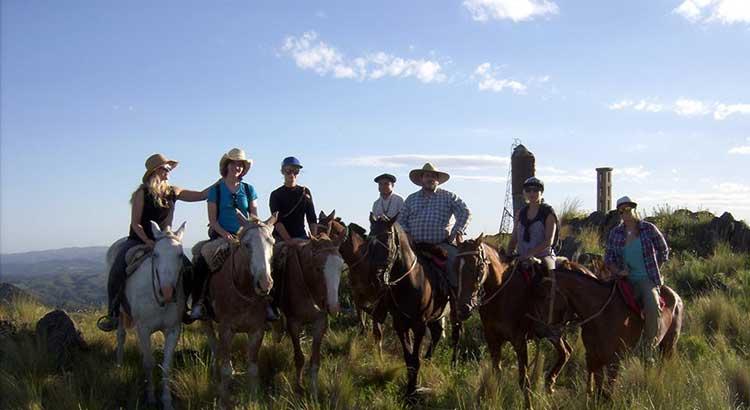 Cabalgatas por las sierras de Córdoba