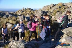 Trekking nocturno más rapel en Capilla del Monte