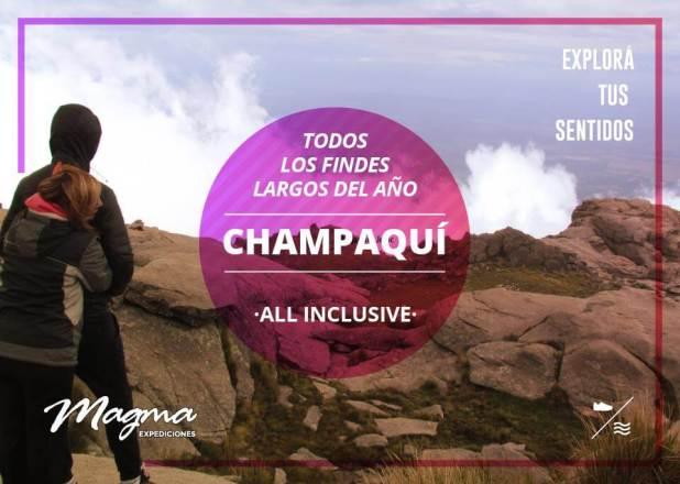 Findes largos en el Champaquí All Inclusive