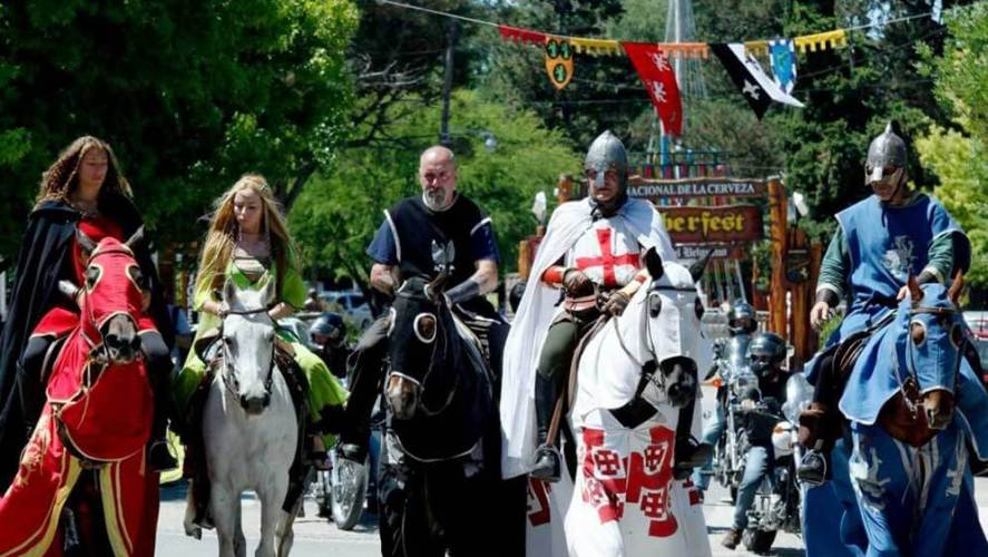 Fiesta Medieval en Villa General Belgrano