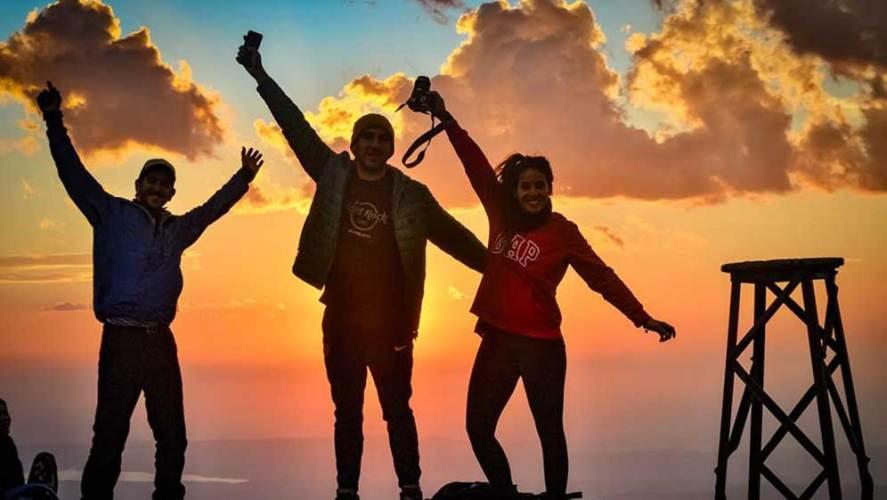Yoga y trekking en los Gigantes