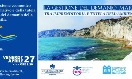 La gestione del demanio marittimo tra imprenditoria e tutela ambientale: convegno venerdì 27 aprile
