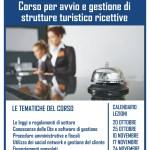 """Corso """"Avvio e Gestione di strutture turistico ricettive"""""""