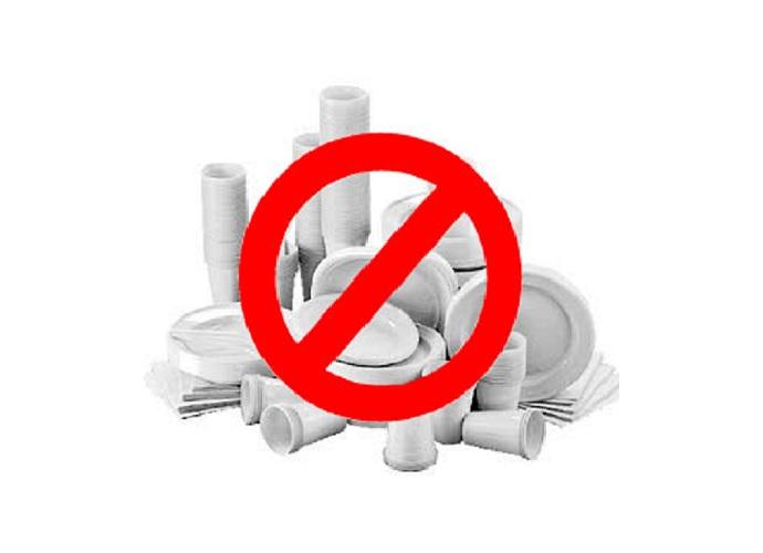A Licata divieto commercializzazione articoli monouso in plastica