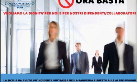 """FASE 2, PICARELLA (CONFCOMMERCIO SICILIA): """"NON C'E' PIU' TEMPO  DA PERDERE, LIQUIDITA' E FONDO PERDUTO PER LE AZIENDE E CIG"""""""