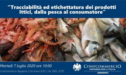 Tracciabilità ed etichettatura dei prodotti ittici: videoconferenza martedì 07 luglio alle ore 10:00