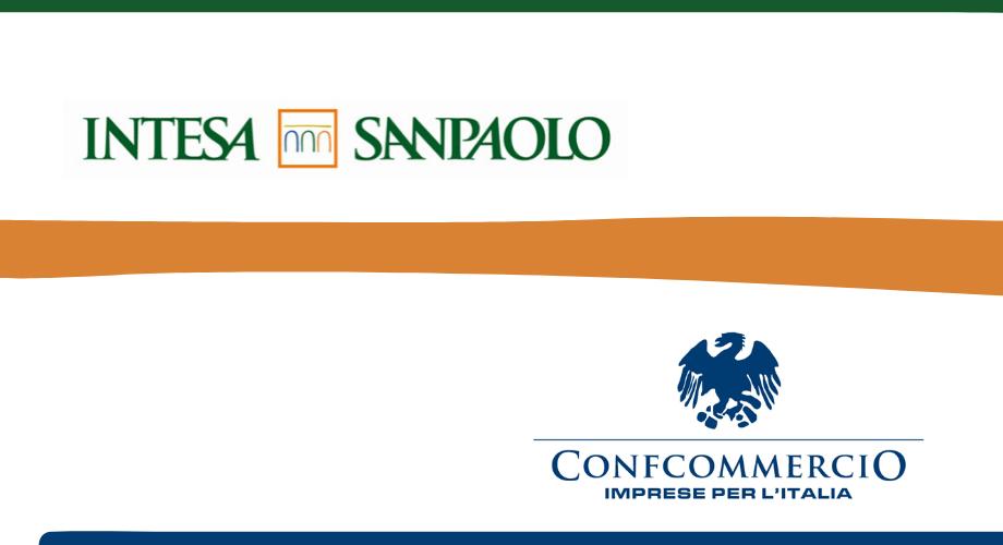 Nuovo accordo tra Confcommercio e Intesa San Paolo