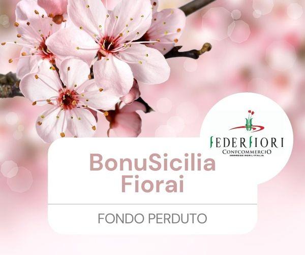 BonuSicilia fiorai: presentazione istanze dal 13 luglio