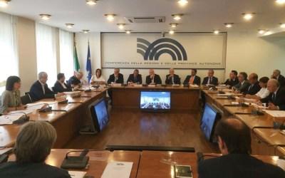 Emergenza COVID-19 – Conferenza delle Regioni