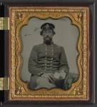 Unidentified midshipman in Confederate uniform.  (Library of Congress)