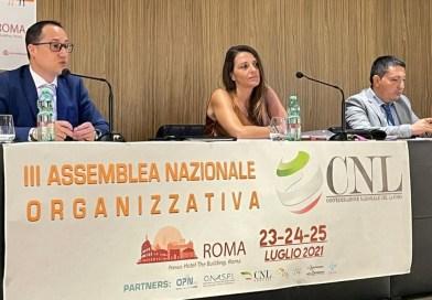 Si è conclusa la III Assemblea Nazionale Organizzativa della CNL-CONFEDERAZIONE NAZIONALE DEL LAVORO
