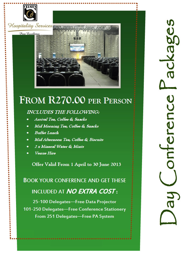 Mmabatho Convention Centre Winter Special