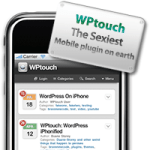 WPtouch Plugin for WordPress