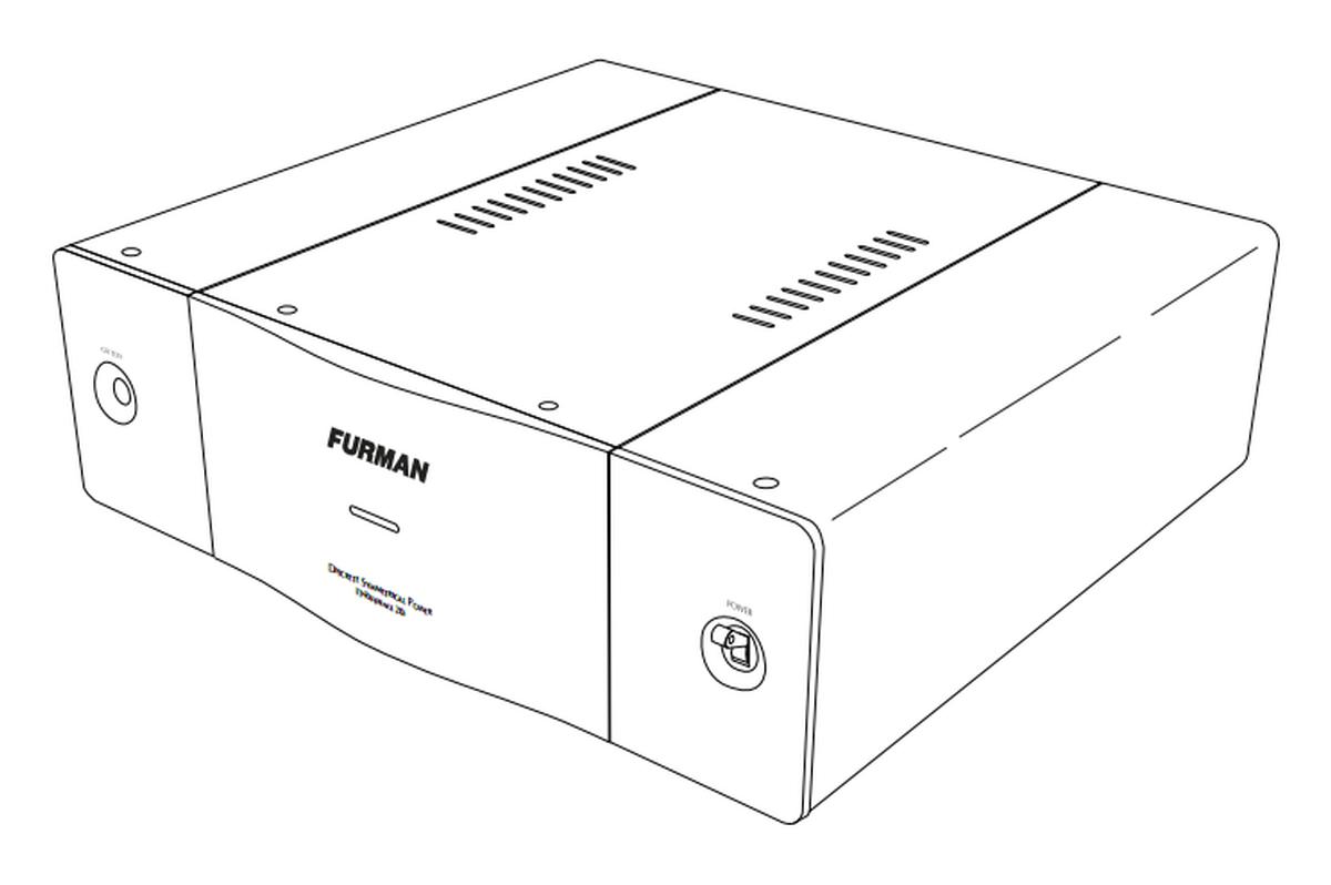 Furman It Ref 20i Discrete Symmetrical Ac Power Source