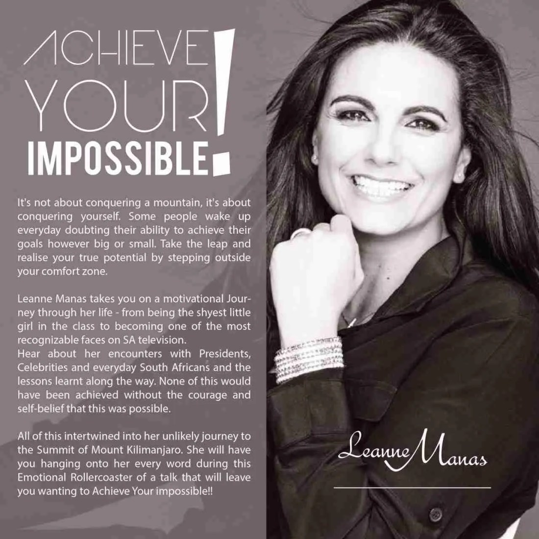 Achieve Impossible - Leanne Manas