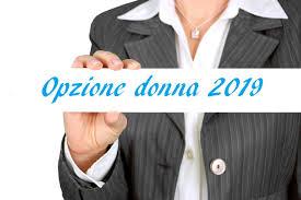 opzione donna