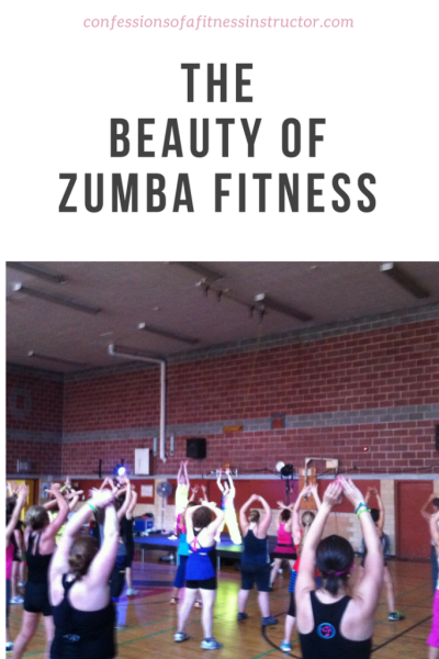 the beauty of zumba