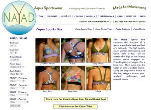 NAYAD Aqua Sportswear