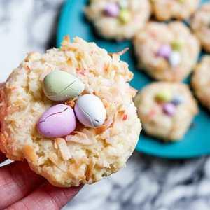 Easter Bird's Nest Cookies