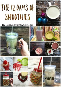 12 Days of Smoothies Recipes + A Giveaway