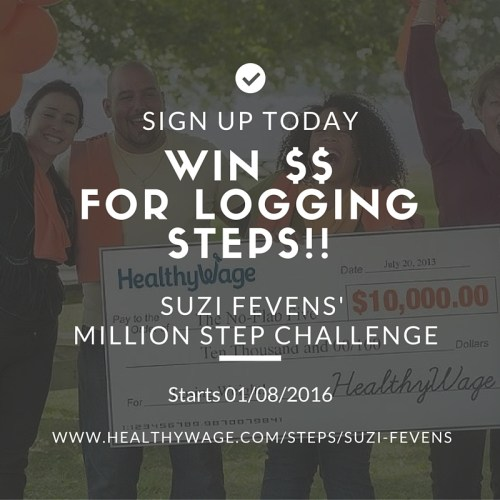 Being active, logging steps, and winning $$ Nope, you're not dreaming. Sign up today! https://goo.gl/tBKdTY