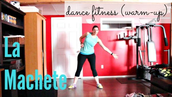 Dance Fitness/Zumba Warm-up Routine to La Machete by King of the Jungle found on Mega Mix 50