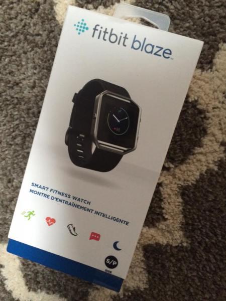 fitbit blaze 24/7 activity tracker review