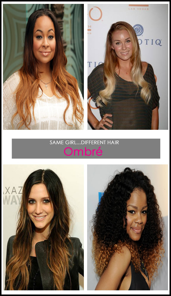 Same Girldifferent Hair Ombr Hair Confessions Of A Glam