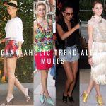 Glam-Aholic Trend Alert: Mules
