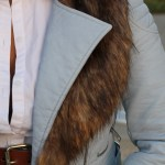 How To Style: Faux Fur Collar