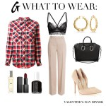 What To Wear: Valentine's Day Dinner