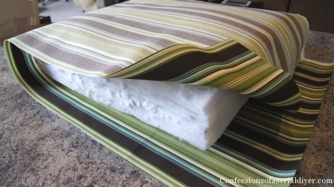 Diy Bench Cushion Cover