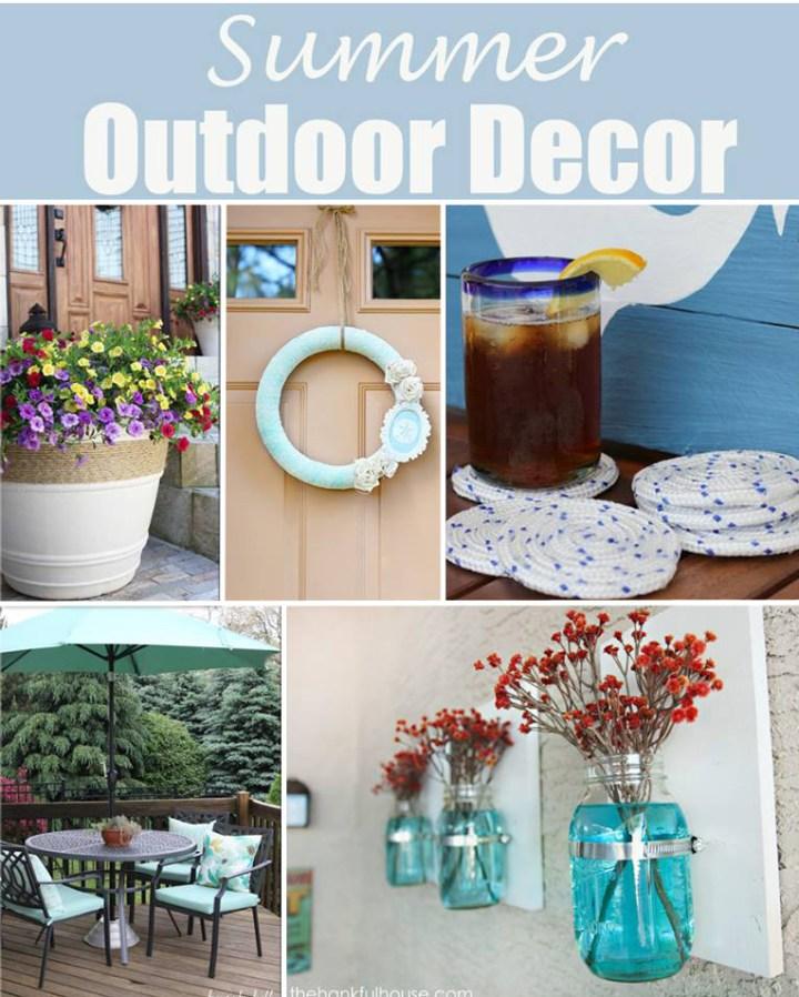 Decoratingspecial Com: Summer Outdoor Decorations Diy