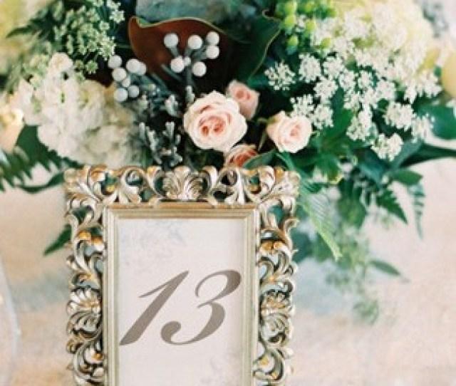 Diy Wedding Table Number Ideas Diy Wedding Table Number Ideas