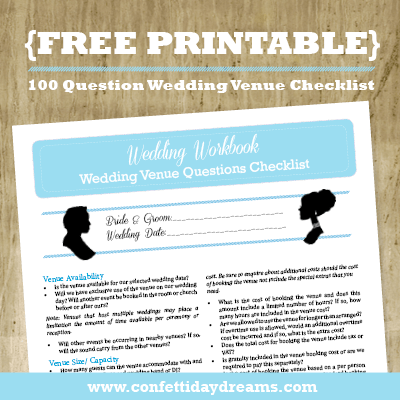 the ultimate wedding cost checklist printable