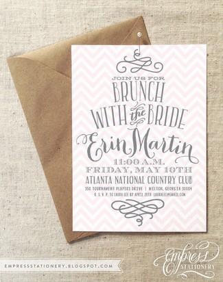 Bridal Brunch Invitation Ideas
