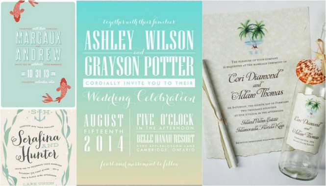 Read More Beach Wedding Invitations Teal Blue Cs Frame
