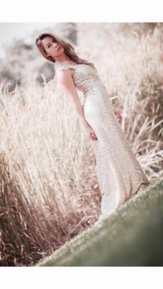 Sequin Glitter Wedding Dresses 16