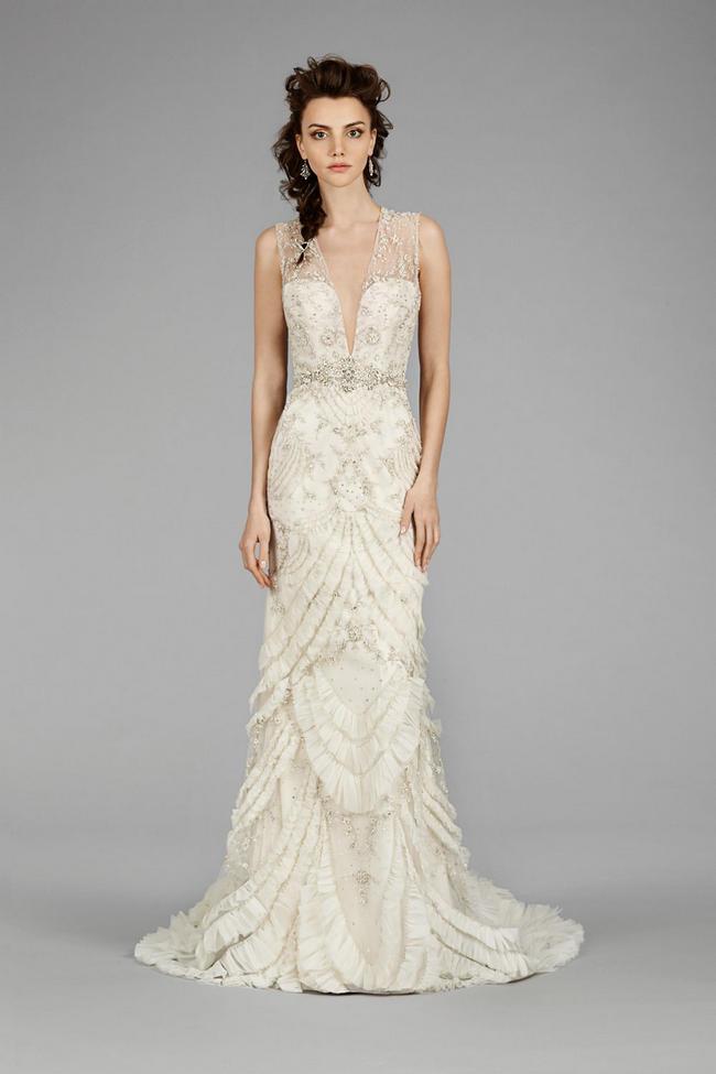 fde28233d530 flirtatiously feminine fall 2014 collection. flirtatiously feminine fall  2014 collection. lazaro fall 2015 ball gown wedding ...