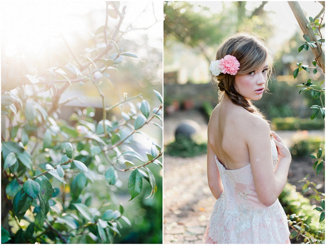 Rapunzel Inspired Long Hair Styles for Spring Weddings // Debbie Lourens Photography