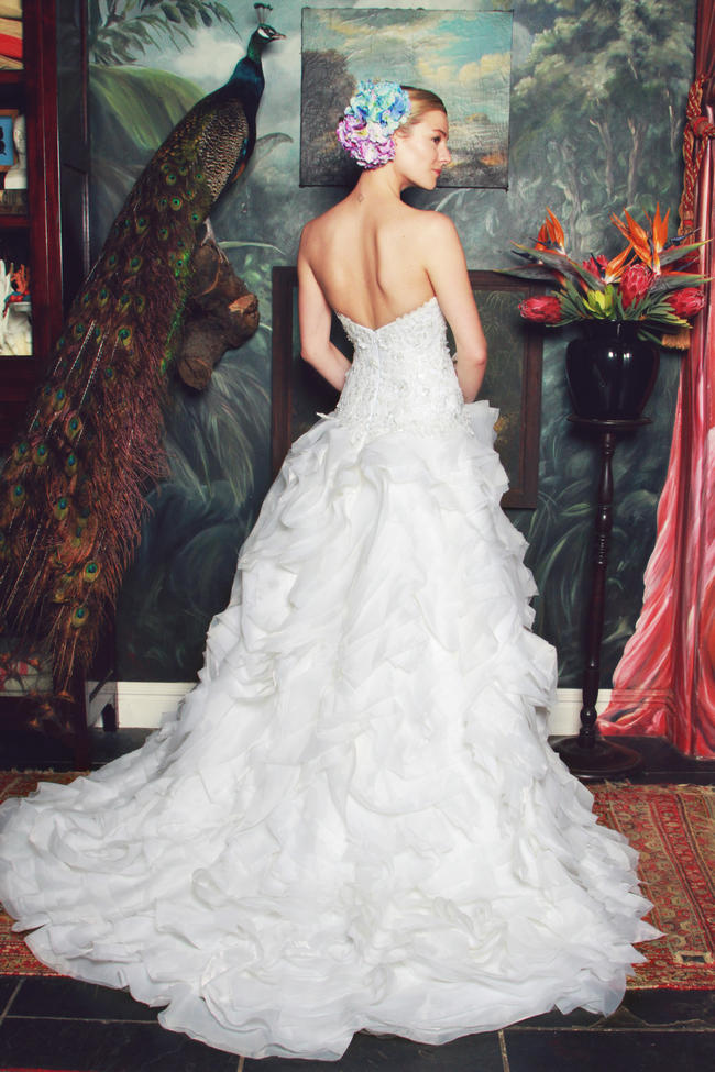 Anna Georgina by Kobus Dippenaar 2015 Wedding Dress
