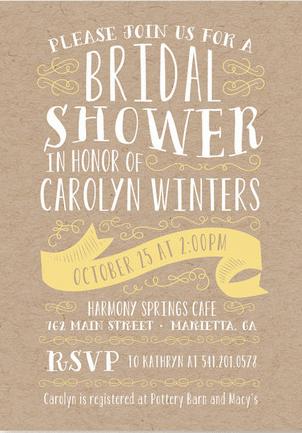 Bridal Shower Invitation Ideas 15