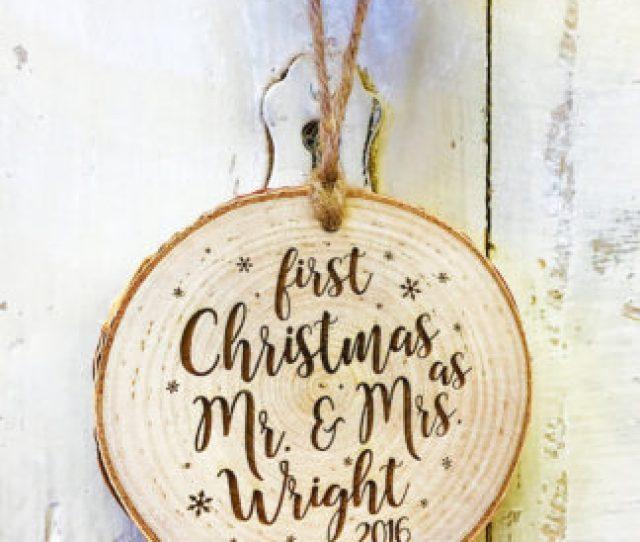 Newlywed Christmas Ornaments Newlywed Christmas Ornaments