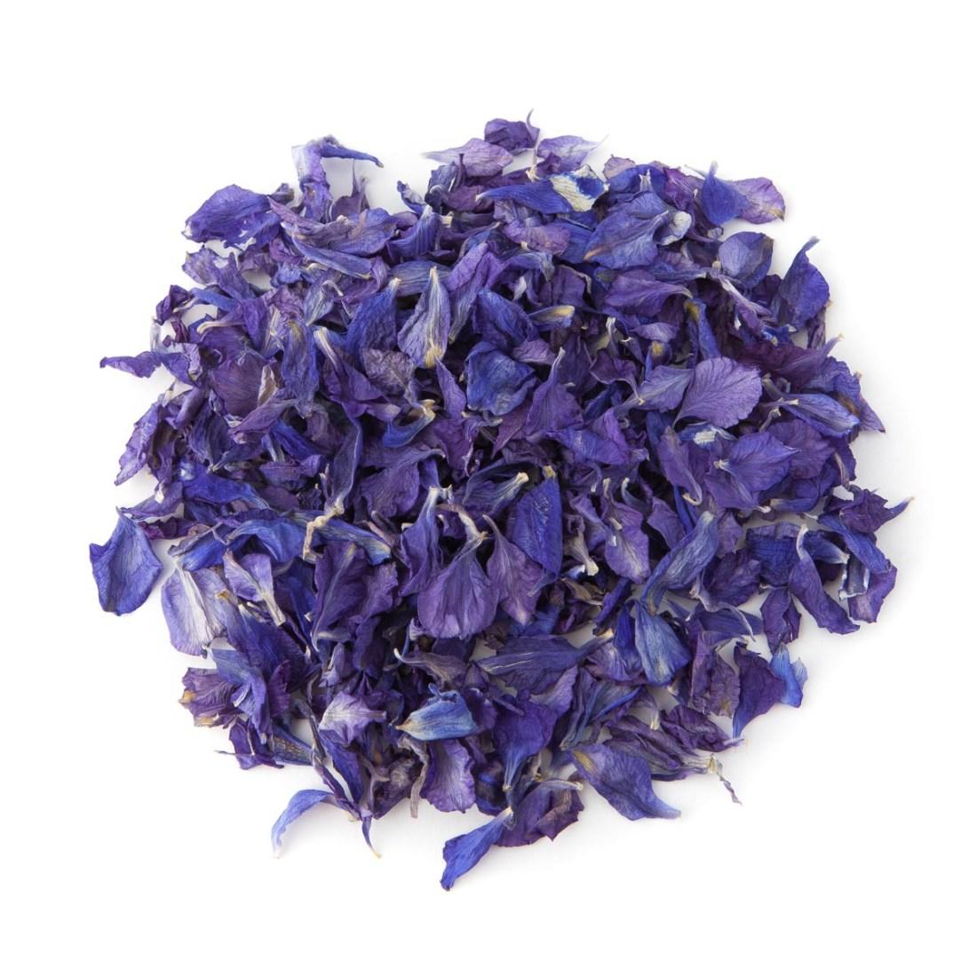 Purple Delphinium Confetti