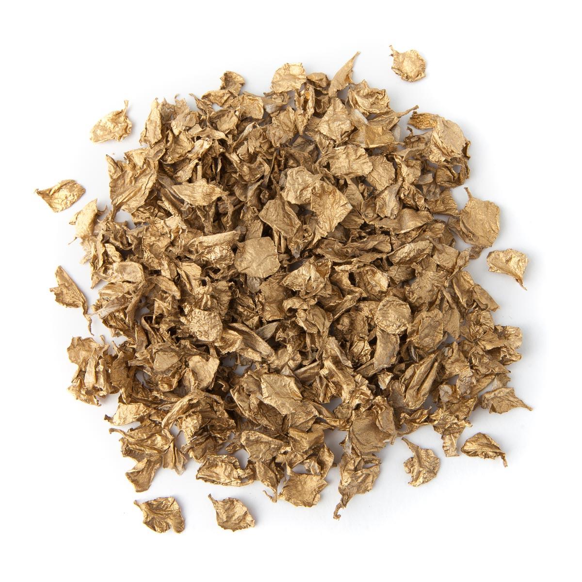 Gold Delphinium Confetti